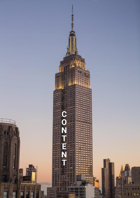 Content Skyscraper