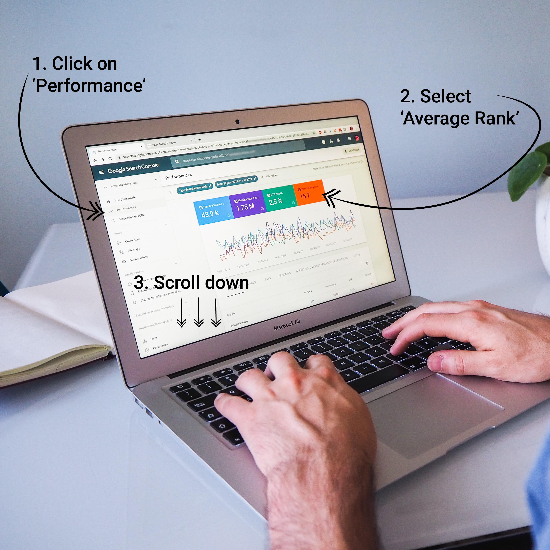 Using Google Search Console