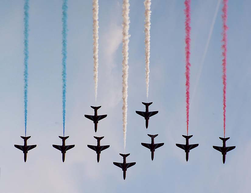 Planes Pointing Down